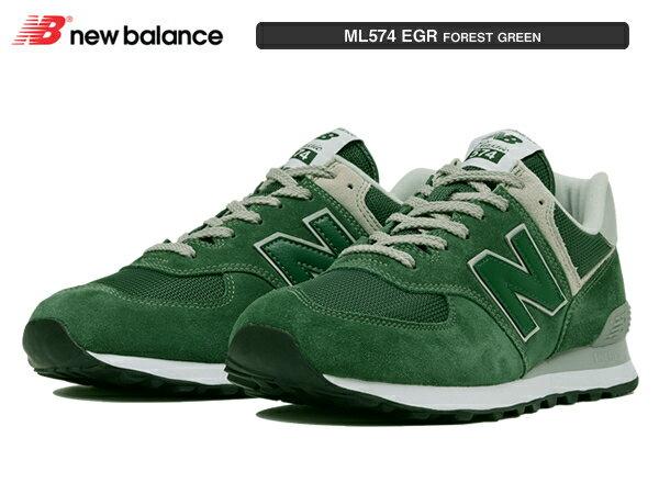 ニューバランス ML574 EGR フォレストグリーン FOREST GREEN newbalance レディース メンズ ユニセックス