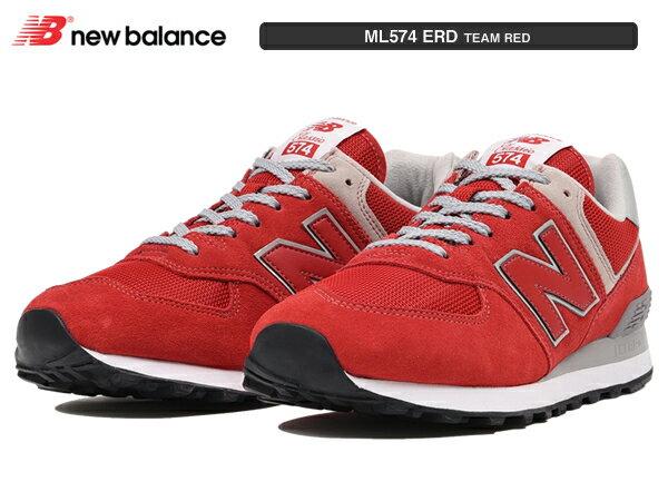 ニューバランス ML574 ERD チーム レッド TEAM RED newbalance レディース メンズ ユニセックス