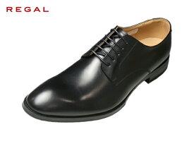 REGAL リーガル 810R AL ブラック プレーントゥ