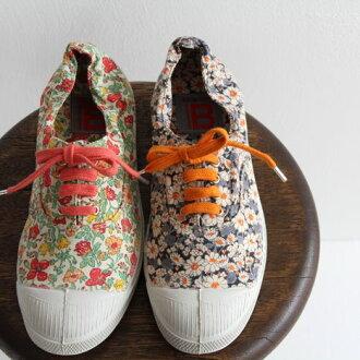 BENSIMON (Bensimon) Liberty print sneaker 15004 TENNIS LACET LIBERTY FEMME