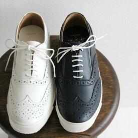 ses amis セザミ ウイングチップ レザースニーカー SA-01 chausser ショセ メンズ 靴