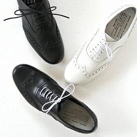 【10%OFFクーポン配布中】TRAVEL SHOES by chausser トラベルシューズバイショセ ウイングチップレースアップシューズ TR-004 レディース 靴