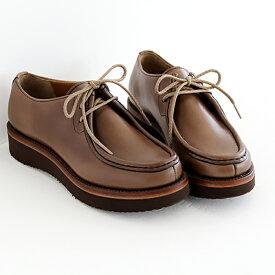 plus by chausser プリュス バイ ショセ チロリアンシューズ PC-5056 chromexcel クロムエクセルレザー レディース 靴