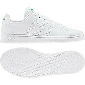 アディダス adidas スニーカー メンズ・ユニセックス AJP-EE7690 ADVANCOURT BASE (EE7690)ランニングホワイト/ランニングホワイト/グリーン 22.0~29.0cm レディース ジュニア 靴 シューズ 白