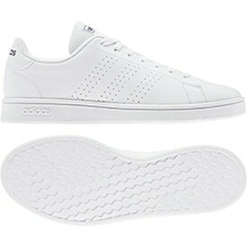 アディダス adidas スニーカー メンズ・ユニセックス AJP-EE7691 ADVANCOURT BASE (EE7691)ランニングホワイト/ランニングホワイト/トレースブルーF17 22.0~29.0cm レディース レディス ジュニア 靴 シューズ