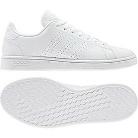 アディダス adidas スニーカー メンズ・ユニセックス AJP-EE7692 ADVANCOURT BASE (EE7692)ランニングホワイト/ランニングホワイト/ローホワイトS19 22.0~29.0cm レディース レディス ジュニア 靴 シューズ白 通学靴 白靴