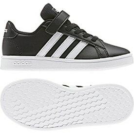 アディダス adidas スニーカー キッズ AJP-EF0108 GRANDCOURT C (EF0108)コアブラック/ランニングホワイト/ランニングホワイト 17.0~21.5cm 靴 シューズ