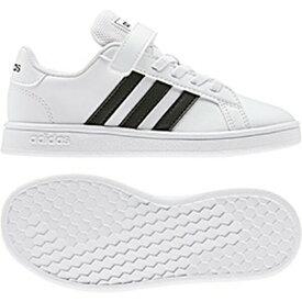 アディダス adidas スニーカー キッズ AJP-EF0109 GRANDCOURT C (EF0109)ランニングホワイト/コアブラック/ランニングホワイト 17.0~21.5cm 靴 シューズ
