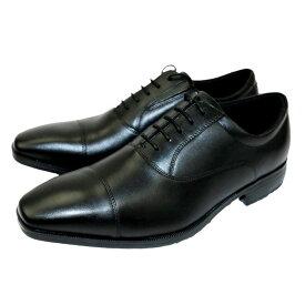 【クーポン配布中!】テクシーリュクス texcy luxe ビジネス メンズ TU-7010 TU7010 ブラック BLACK 24.5〜27,28cm 靴 シューズ 牛革 ストレート 革靴 ビジネスシューズ 幅広 軽量 紳士靴 アシックス商事 冠婚葬祭 黒