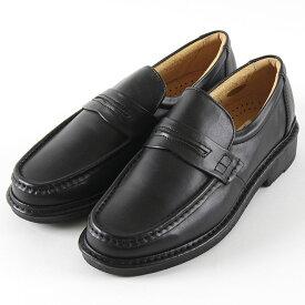 【クーポン配布中!】【ラッピング無料】Rinescante Valentiano リナシャンテバレンチノ 日本製本革ビジネスウォーキング 3701 ビジネス メンズ ブラック 24〜27cm 靴 シューズ ヒモ無し