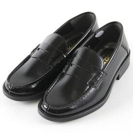 【クーポン配布中!】【ラッピング無料】俺のローファー 踵がふめる2WAYローファー 3201 ビジネス メンズ ブラック 24.5〜27cm 靴 シューズ ヒモ無し
