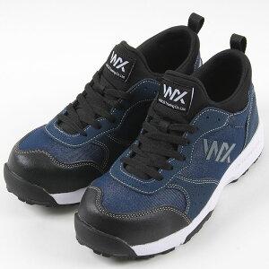 テクシーワークス プロテクティブスニーカー 3 安全靴 セーフティ メンズ ネイビー 24.5〜28cm 靴 シューズ ローカット