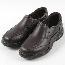 旅日和 ウォーキングカジュアル 7817 メンズ ダークブラウン 24.5〜27cm 靴 シューズ 幅広