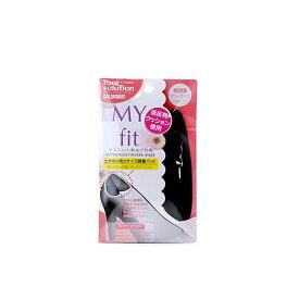【クーポン配布中】コロンブス シューケア用品 マイフィット 靴ヌゲ対策 ブラック 80510001 ブラック 女性用フリーサイズ 靴ぬげ防止 サイズ調整
