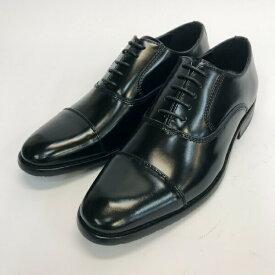 【ラッピング無料】Darni Karni ダーニカーニ メンズ ビジネスシューズ ストレートチップ 801 ブラック 25cm〜28cm 靴 シューズ