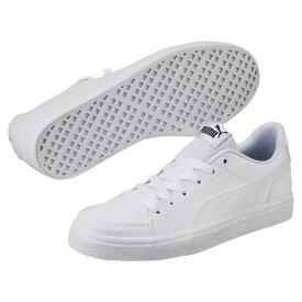 プーマ PUMA スニーカー PMJ-362947 コートポイント VULC V2 BG 02ホワイト/ホワイト 22.0~25.0cm レディース 白 通学靴