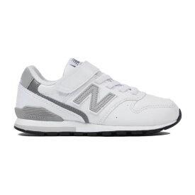 ニューバランス newbalance スニーカー キッズ YV996LWH M ホワイト WHITE 靴 シューズ ジュニア 20FW マジック ベルクロ 通学 男の子 ボーイズ 女の子 ガールズ