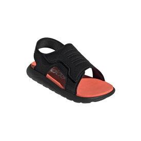P10倍!アディダス adidas サンダル キッズ AJP-EG2232 CF SANDAL C (EG2232)コアブラック/ソーラーレッド/フットウェアホワイト ジュニア 靴 シューズ アウトドア キャンプ 20SS H445