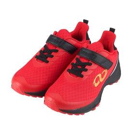 アンリミティブ UNLIMITIV スニーカー キッズ S-LINE S-01-F レッド センサーユニット付 ジュニア 面ファスナー 日本ランニング協会推奨商品 トレーニング 18〜24.5cm 靴 シューズ