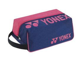 ヨネックス YONEX BAG2133 テニス・バドミントン バッグ シューズケース ネイビー/ピンク 21FW【5営業日以内に発送】