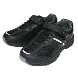 カジュアルシューズ 6100 スニーカー メンズ ブラック 25〜27cm 靴 シューズ