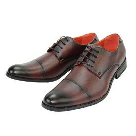 【クーポン配布中】BEVERLY HILLS POLO CLUB ビバリーヒルズポロクラブ 301 ビジネス メンズ ブラウン 25〜27cm 靴 シューズ