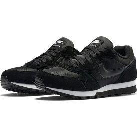 【クーポン配布中】NIKE ナイキ ウィメンズ MD ランナー 2(749869) (001)ブラック/ブラック/ホワイト レディース スニーカー 靴 シューズ