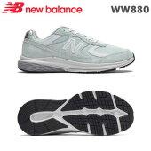ニューバランススニーカーWW880ウォーターヴェイパー2E24.0cm靴幅:2E/4E女性用ウォーキングシューズ
