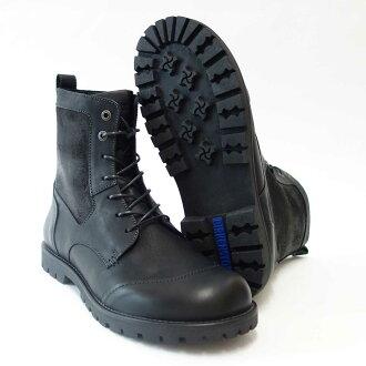 """生于BIRKENSTOCK(birukenshutokku)GILFORD HIGH(吉尔福德,是)男子的489111(天然皮革/黑色)欧洲的舒适的长筒靴""""鞋"""""""