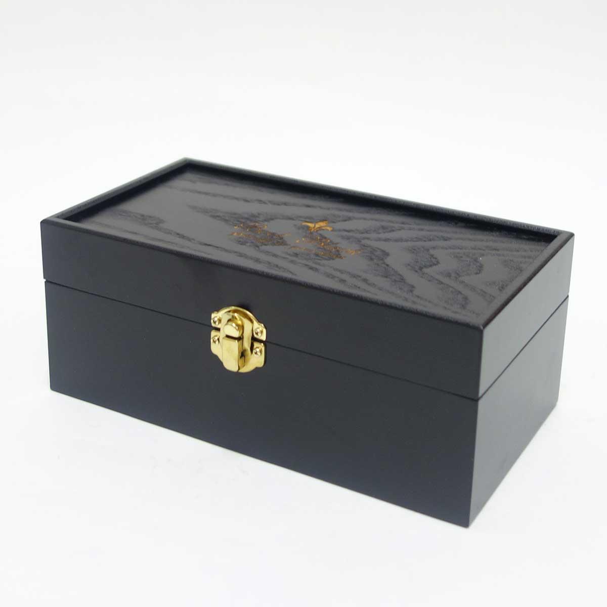 Boot Black ブートブラック 磨きのプロ達が創り上げたシューケアBOXスプモーニ(木箱のみ)(日本製)コロンブス《Boot Black》正規取扱店