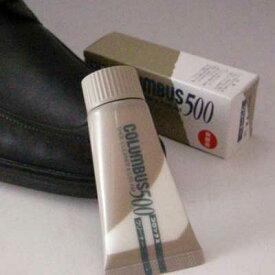 チューブタイプのツヤ革専用汚れ落としCOLUMBUS コロンブス 500(日本製)靴 シューズ