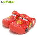 crocs クロックス crocs fun lab Cars clog kidsクロックス ファン ラブ カーズ クロッグ キッズ 204116 8c1 flame(…