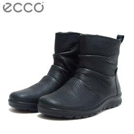 エコー ECCO 215623 ブラック (レディース) 上質天然皮革のサイドファスナーブーツ「靴」