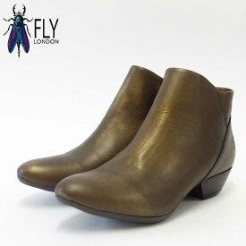 FLY LONDON フライロンドンSODA130FLY 144130 グレースオリーブポルトガル製アンクルブーツ「靴」