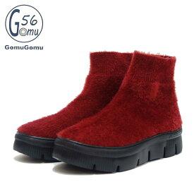 ゴムゴム Gomu56 5560 ワインレッド ゴムストレッチブーツ(レディース) 厚底クッション 「靴」