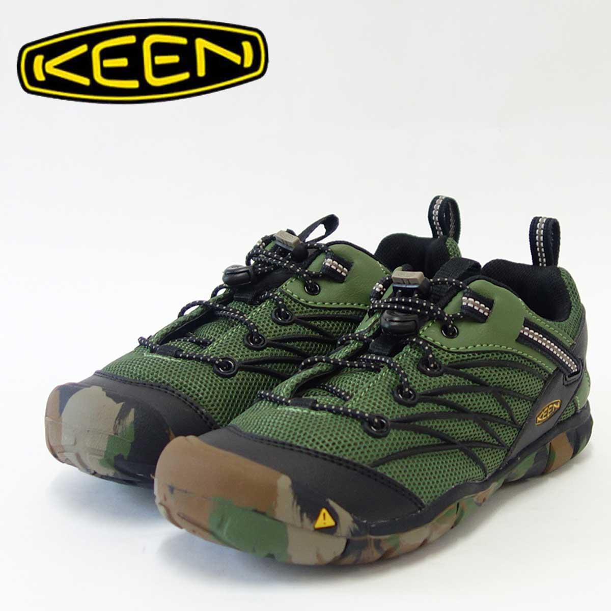 KEEN キーン KIDS Chabdler CNX1015508(キッズ)1015509チャンドラーシーエヌエックス カラー:Crushed Bronze Greenあらゆるアドベンチャーに対応する多目的シューズ「靴」
