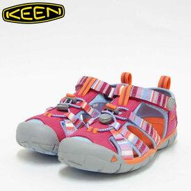 KEEN キーン KIDS Seacamp 2 cnx 1016435(キッズ)1016427 シーキャンプツーシーエヌエックスカラー:Bright Rose / Raya「靴」