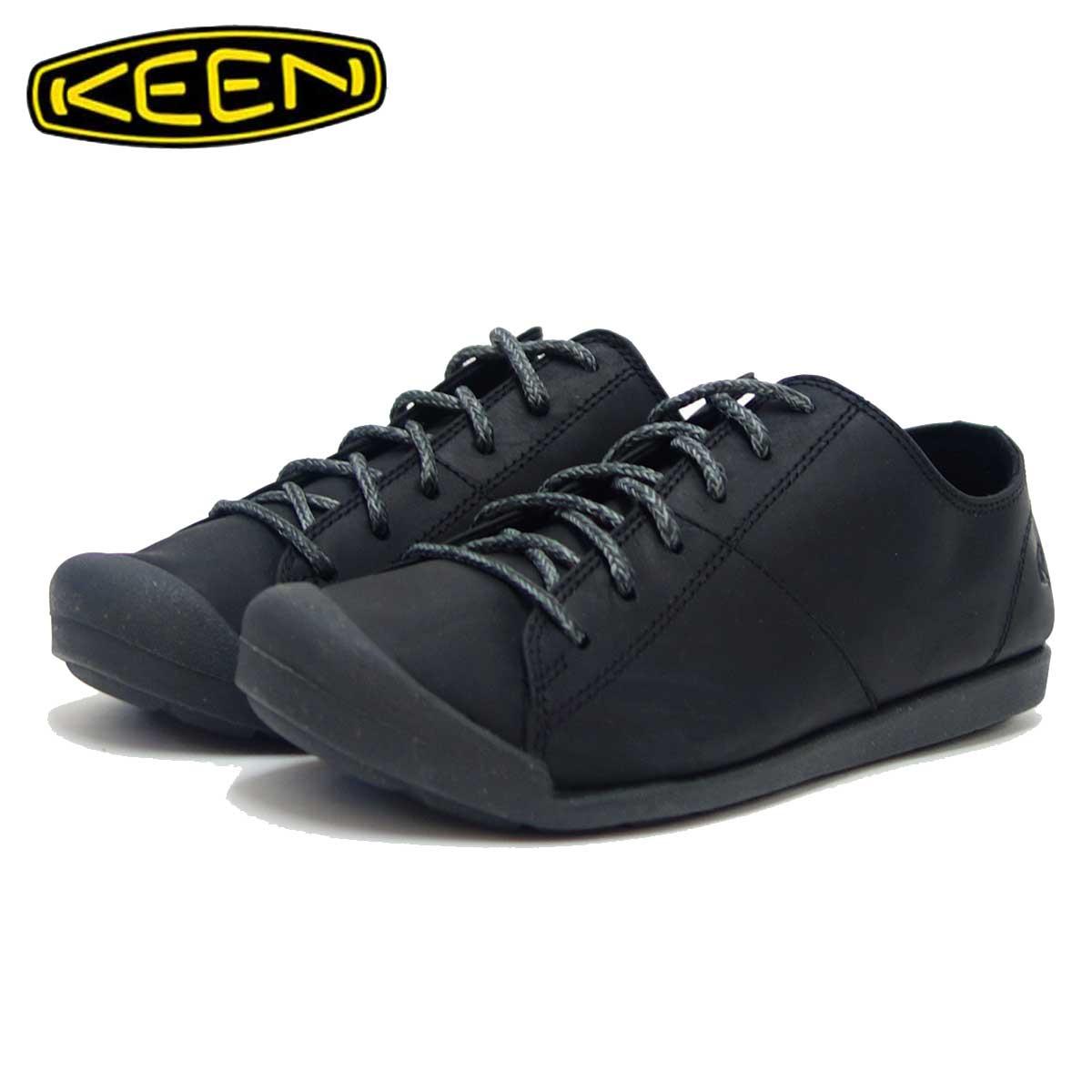 キーン KEEN SIENNA OXFORD 1019583 ブラック(レディース) シエナ オックスフォード「靴」