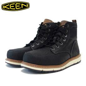 キーン KEEN サンノゼ エーティー 1020053 ブラック(メンズ)工事現場用ワークシューズ 安全靴「靴」