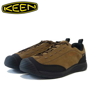 KEEN キーン JASPER II WP ジャスパー ツー ウォータープルーフ 1023869(メンズ)カラー:Dark Earth / Black 防水 スニーカー ウォーキング「靴」