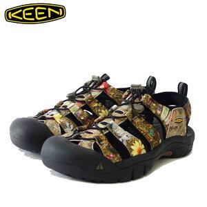 KEEN キーン Newport H2 ニューポート エイチツー 1024621(メンズ)カラー:New Aco Camo スポーツサンダル「靴」
