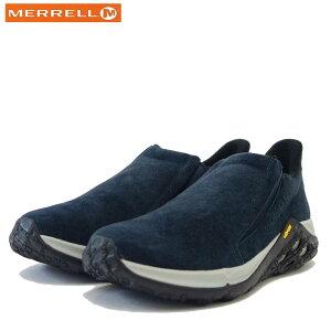 MERRELL メレル ジャングル モック 2.0 エーシープラス JUNGLE MOC 2.0 AC+(レディース)5002374 ネイビー スエード レザースニーカー スリッポン 「靴」