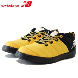 ニューバランス new balance YHMOCYLB イエロー/ブラック(キッズ) モックスニーカー ゴムレース スリッポン「靴」