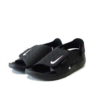 NIKE ナイキ サンレイアジャスト5 ブラック/ホワイト AJ9076 001(キッズシューズ)「靴」