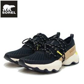 ソレル SOREL NL 4073(レディース) キネティックインパクトレースメッシュ:ブラック (010) ストレッチ スリッポン シューズ「靴」