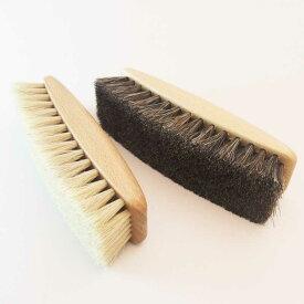 天然素材で作られた靴ケア品【TAPIR タピール】艶だしブラシ(馬毛)大きめで磨きやすいブラシ(ドイツ製)靴 シューズ