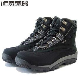 ティンバーランド Timberland(メンズ)ライムリッジ 2411r ミッドシェルトウインシュレーテッドウォータープルーフ (ブラック/グレー)「靴」