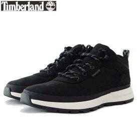 ティンバーランド Timberland フィールド トレッカー ロー A2A58 ブラック ヌバック (メンズ)レザースニーカー ウォーキング ハイキング シューズ「靴」