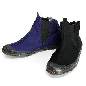 作業用靴 親方寅さん #28 福山ゴム 滑りにくい サイドゴア 先丸 地下足袋 スニーカー ミッドカット