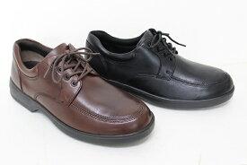 ドクターアッシー ビジネスシューズ:プレーンタイプ 通気性 4E 本革 【Dr.ASSY】 DR-1009 4E ブラック&ダークブラウン 24.5cm〜28.0cm 甲高幅広 革靴 皮革 皮靴 event1909